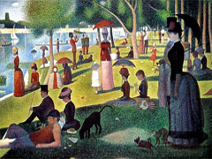 Georges Seurat, La Grande Jatte, 1884 (Art Institute of Chicago)