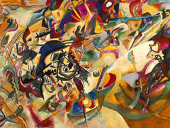 Wassily Kandinsky, Composition VII, 1913 (Tretyakov Gallery, Moscow)